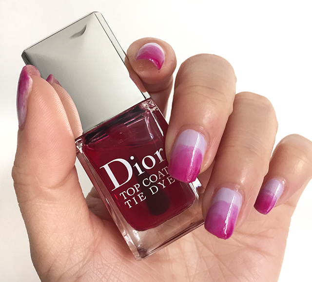 Dior Vernis Tie Dye Top Coat notd