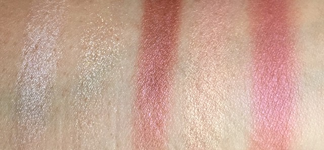 Tom Ford Eye and Cheek Palette swatches