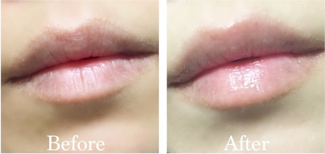 YSL Plump Up before after