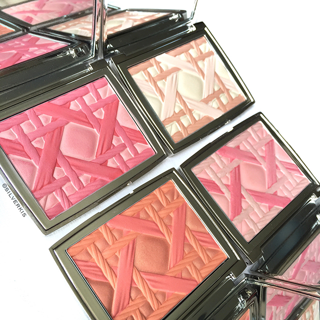 Clockwise from top left: Dior My Lady 002 - 005 - 006 - 007