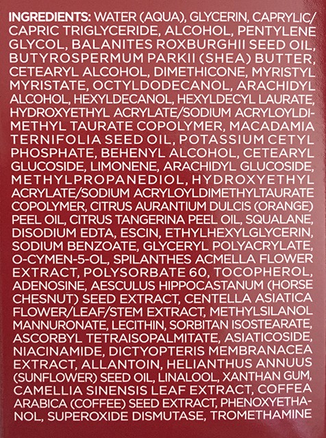 Radical Skincare Firming Body Multi-repair ingredients