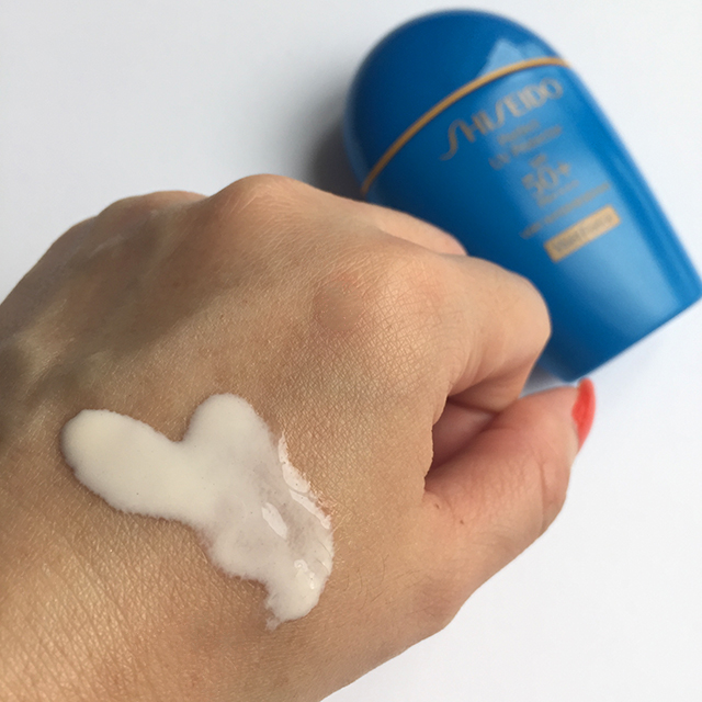 Shiseido Perfect UV Protector swatch