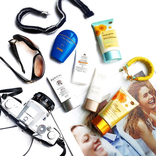 Sunscreen Smackdown: Radical Skincare, Kiehl's, Shiseido, Creme Simon, TheFaceShop