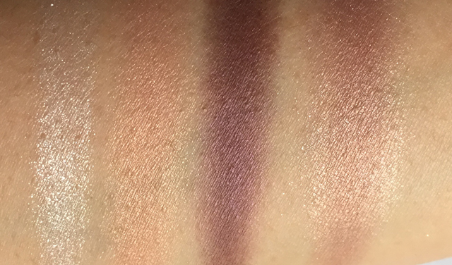 Suqqu Eye Color Palette EX01 Benikakesora swatches