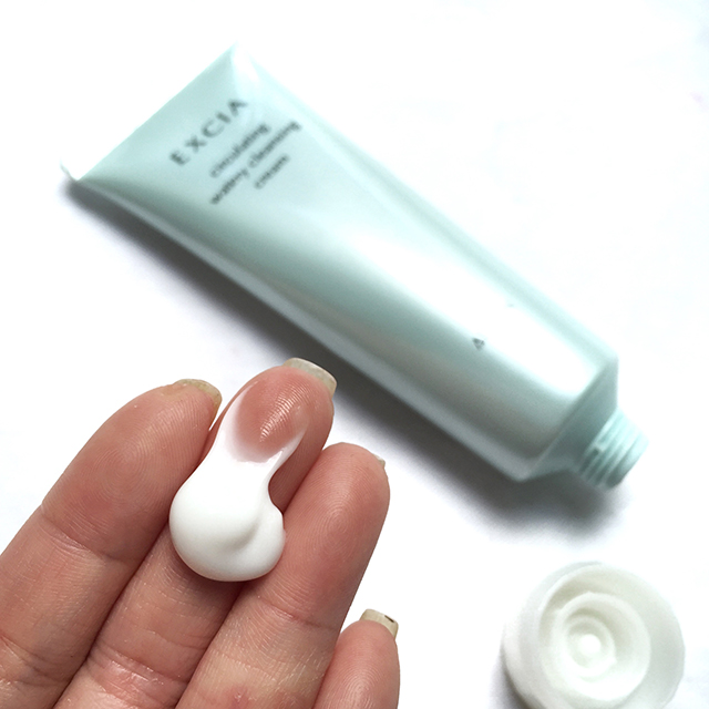 Albion Excia Circulating Watery Cleansing Cream swatch