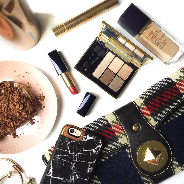 Estee Lauder office makeup look