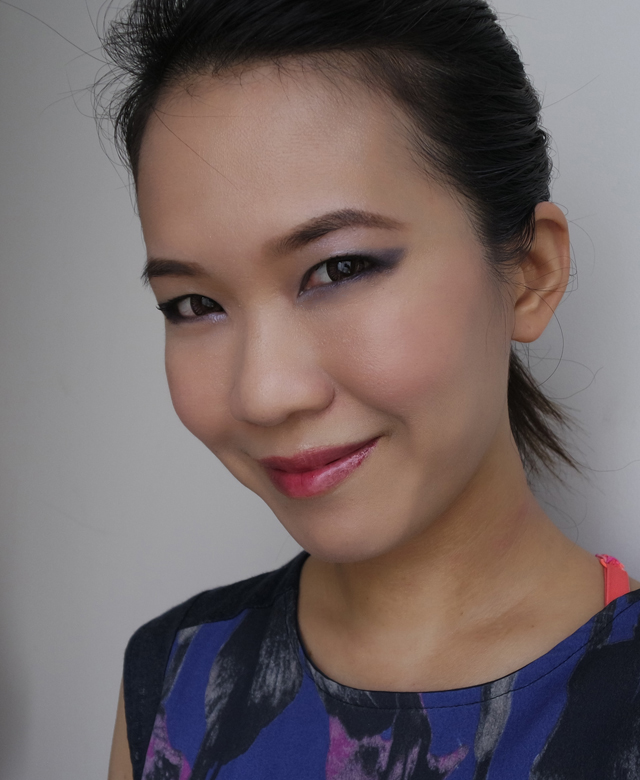 YSL Bastille Day Party Makeup Look