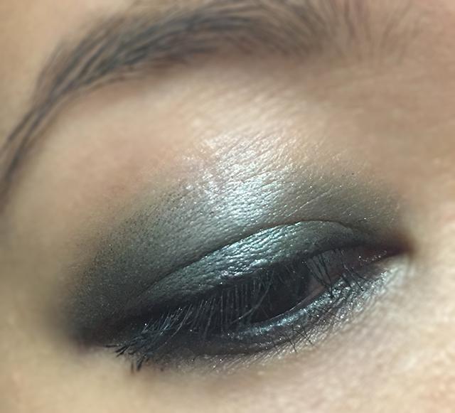 YSL Couture Mono Eyeshadow 9 orient EOTD