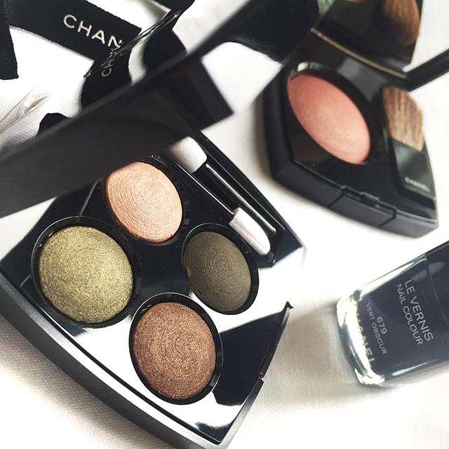 Chanel Les 4 Ombres Tisse d'Automne