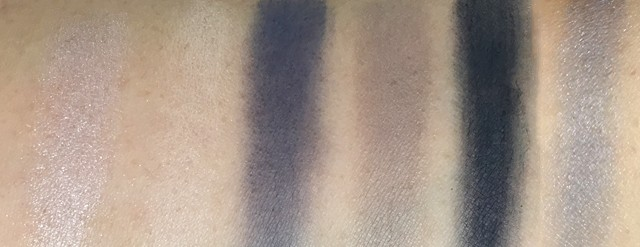 Guerlain Ecrin 6 Couleuers Beaugrenelle swatches
