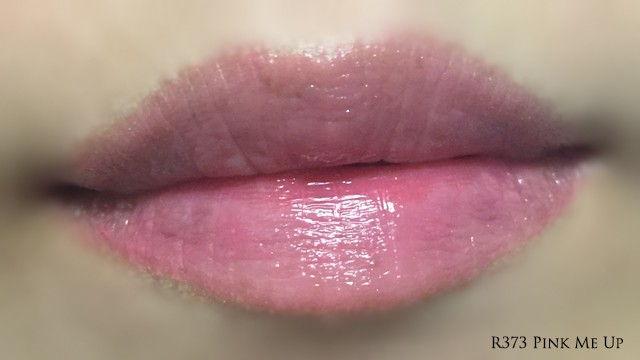 Guerlain KissKiss Roselip Pink Me Up lip swatch