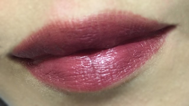 Shiseido Perfect Rouge RS656 lip swatch