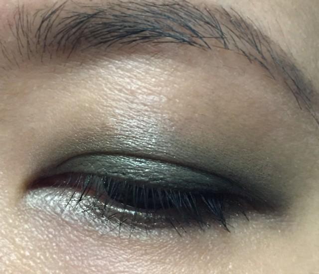 Shiseido Shimmering Cream Eye Color GR732 eotd