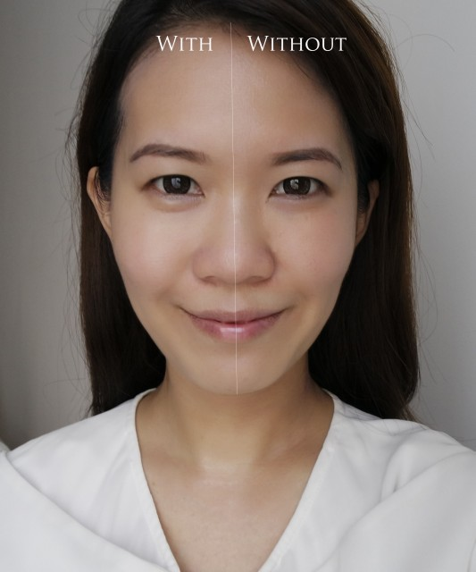 Tom Ford Complexion Enhancing Primer before after comparison