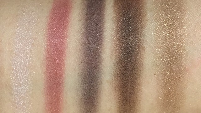 YSL Metal Clash Palette swatches