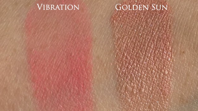Chanel Joues Contraste Golden Sun Vibration swatches