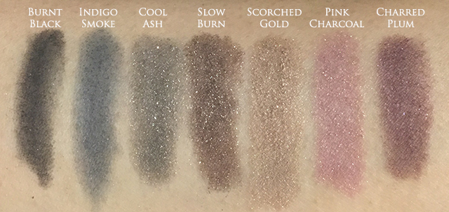 Estee Lauder Magic Smoky Powder Shadow Stick swatches