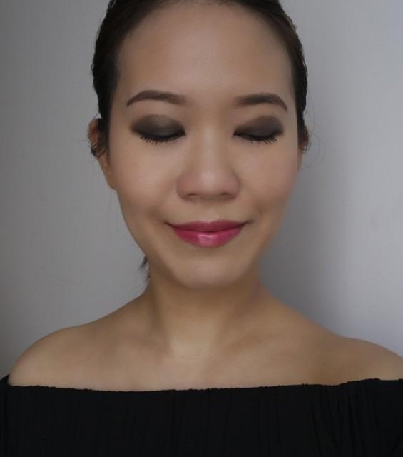 Makeup look featuring Estee Lauder Pure Color Envy Eye Defining Single Jaded Moss & Ominous