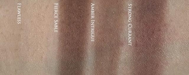 Estee Lauder Pure Color Envy Eye Defining Singles - matte swatches
