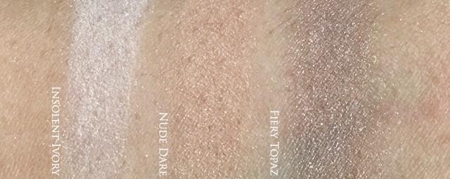 Estee Lauder Pure Color Envy Eye Defining Singles - velvet swatches