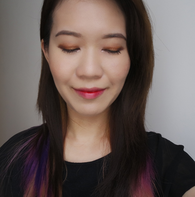 Etude House Bling Me Prism makeup look