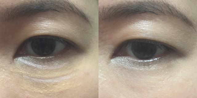Givenchy Teint Couture Concealer before after