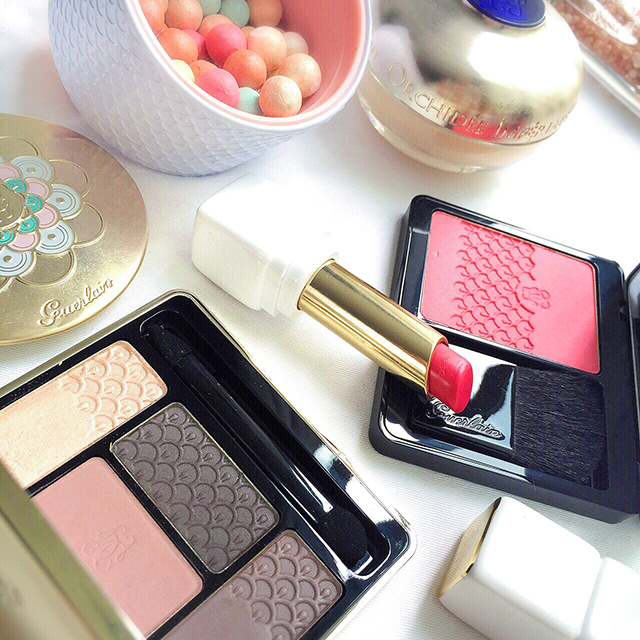 Guerlain Fall 2015 Les Cendres & Pink Me Up