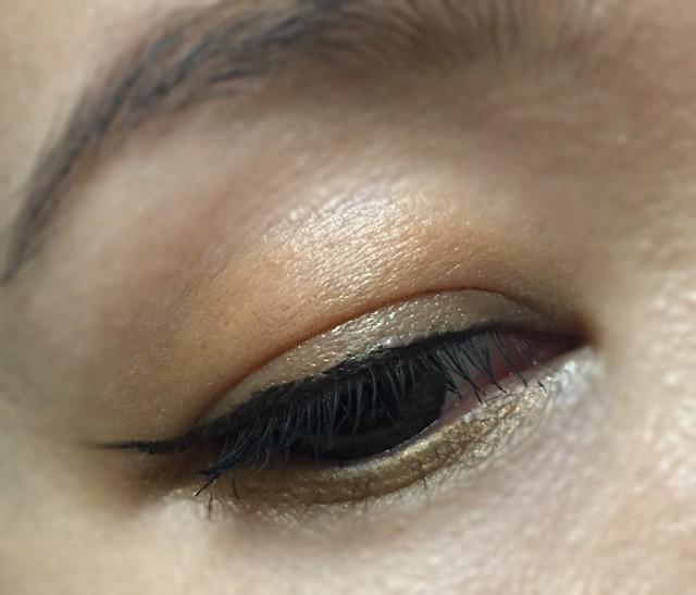 Shiseido Shimmering Cream Eye Color BR329 eotd