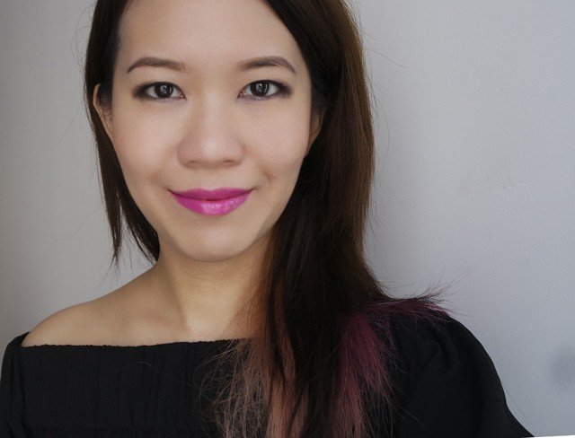 Makeup look featuring Shu Uemura Rouge Unlimited Sheer Shine PK357
