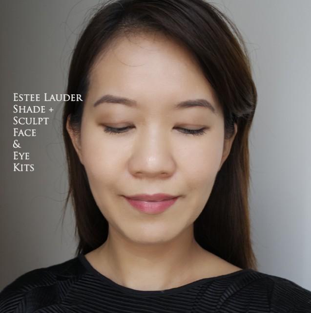Estee Lauder New Dimension Shape + Sculpt Face & Eye Kits comparison