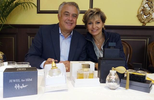 Martine Micallef and Geoffrey Nejman