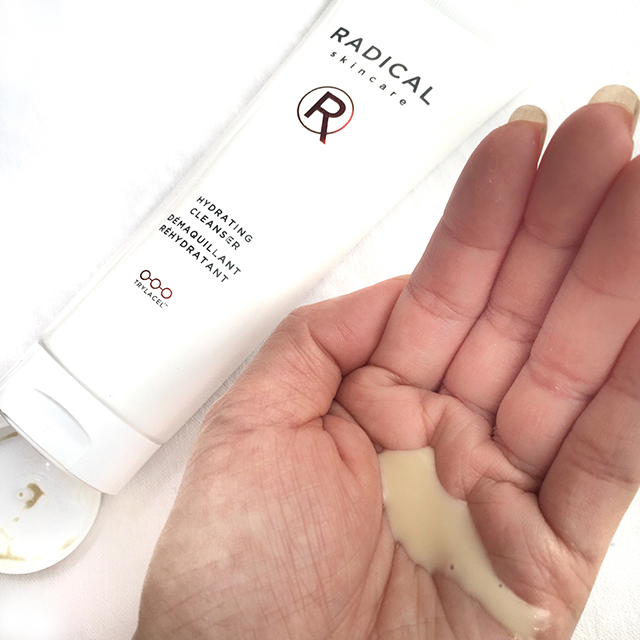 Radical Skincare Hydrating Cleanser swatch