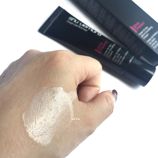 Shu Uemura Stage Performer Glow Creator blended swatch