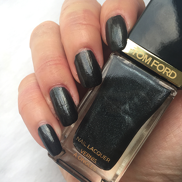 Tom Ford Black Out Nail Lacquer nail swatch