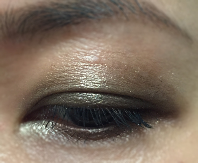 Eye makeup look ft SUQQU eye Color Palette EX-04 and Tom Ford Lash Tips in Burnished Gold