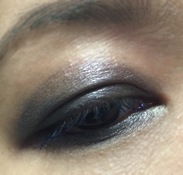 Eye makeup look ft SUQQU eye Color Palette EX-04 and Tom Ford Lash Tips in Cobalt Blue