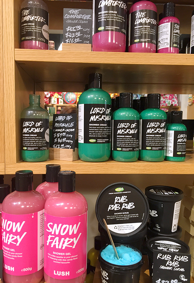 Lush Christmas 2015 Shower Gel