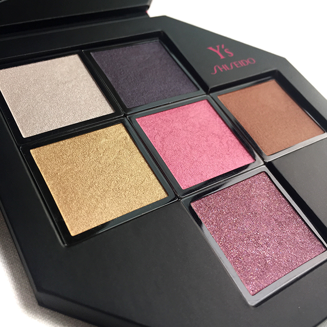 Shiseido x Y's Festive Camellia Palette for Holiday 2015