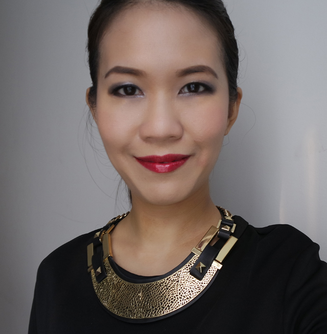 Shu Uemura x Maison Kitsune makeup look