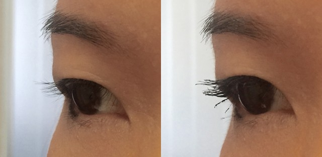 Tom Ford Waterproof Extreme Mascara before after