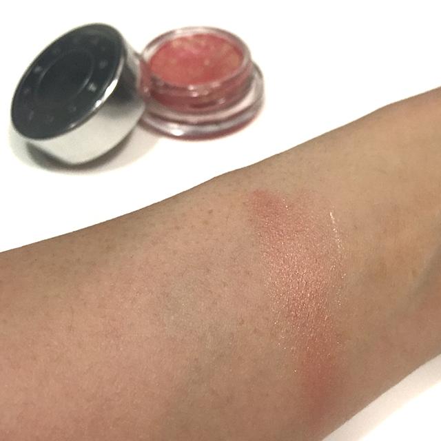 Becca Beach Tint Shimmer Souffle Guava swatch