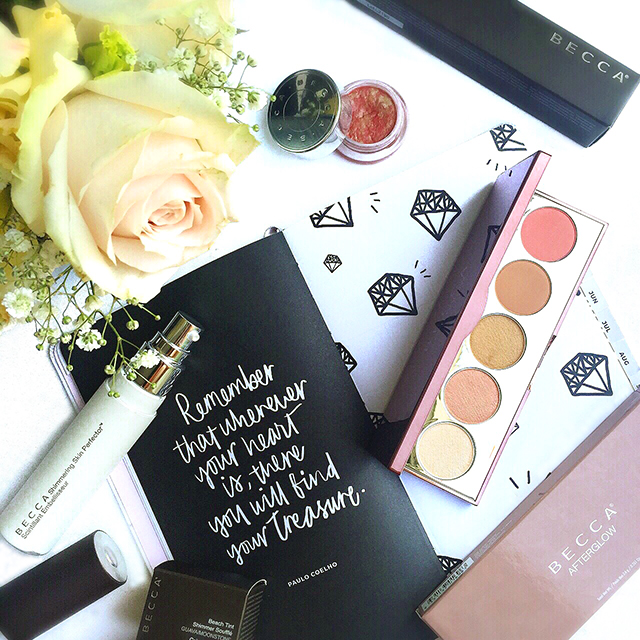 Becca glowy makeup picks