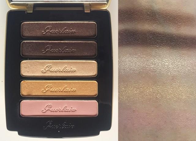 Guerlain Ors et Merveilleus Eyes and Blush Palette swatches