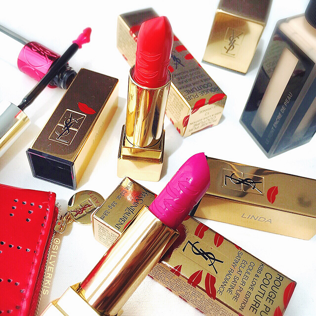 YSL Kiss & Love Rouge Pur Couture