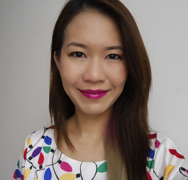 YSL Kiss & Love Rouge Pur Couture Le Fuchsia makeup look