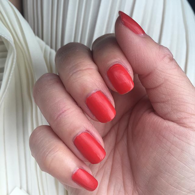 YSL La Laque Couture Matte Le Orange notd