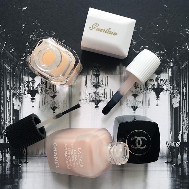 Chanel La Base & Guerlain Nailift
