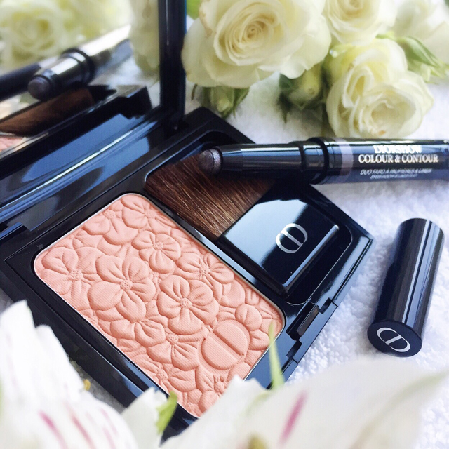 Dior Spring 2016 Shadow Liner Duo & Blooming Peach Blush