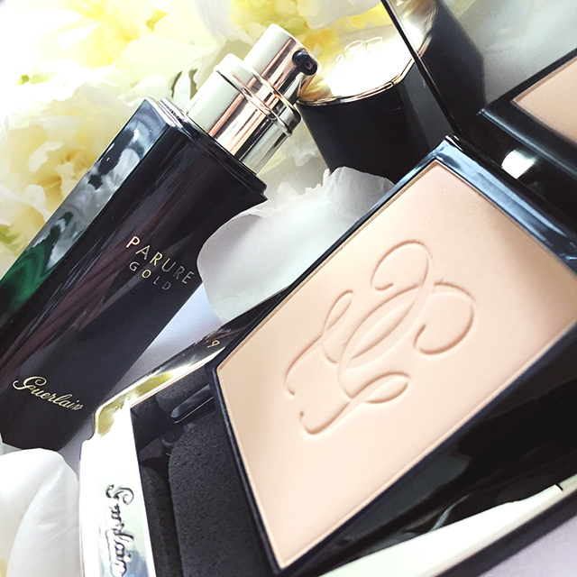 Guerlain Parure Gold Fluid & Powder Foundations