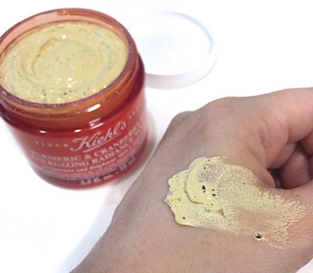 Kiehls Tumeric & Cranberry Seed Energizing Radiance Masque